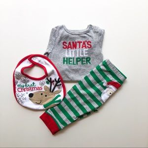 9 Month Baby Christmas Outift